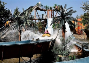 Wildwaterbaan in Drievliet