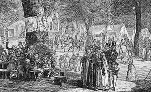 Volksfeest rond 1800