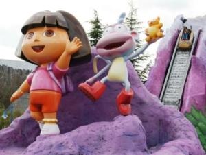 Dora's Big River Adventure in Movie Park Germany
