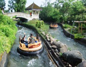 Wildwaterbaan in Avonturenpark Hellendoorn