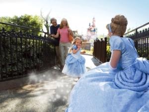 Een ontmoeting met Assepoester in Disneyland Paris