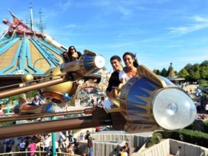 Orbitron in Disneyland Paris