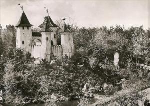 Het kasteeltje van Doornroosje in de Efteling