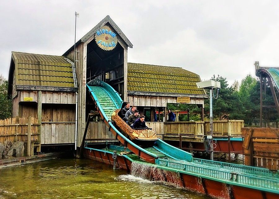 Wildwaterbaan in Attractiepark Slagharen