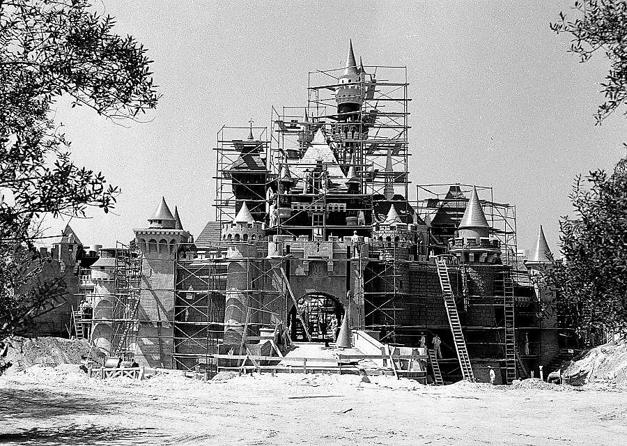 Het kasteel van Doornroosje, 1955, Disneyland Anaheim (V.S.)