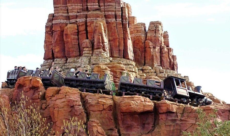 Big Thunder Mountain Railroad in Disneyland Paris