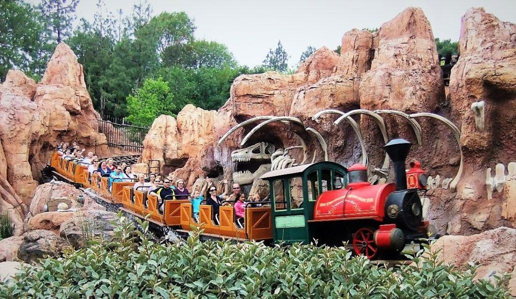 Big Thunder Mountain Railroad in Disneyland - Foto: © Adri van Esch