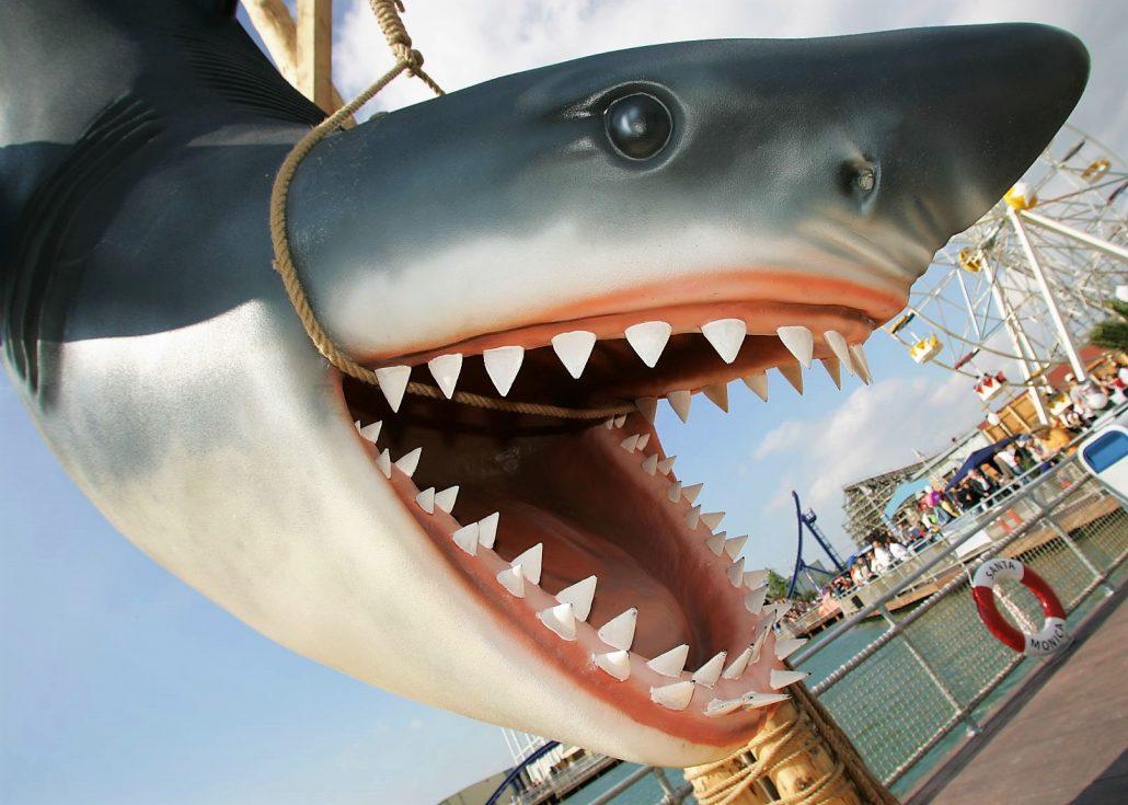 Santa Monica Pier in Movie Park Germany