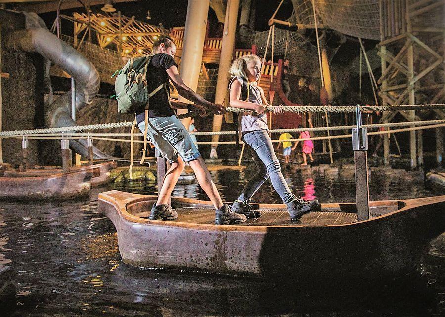 Spelen in Animazia in Wildlands Adventure Zoo